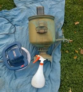 Poliravimo šlifuoklis idealiai tinka valyti didelius lygius paviršius. Taip sutaupysite nemažai laiko.